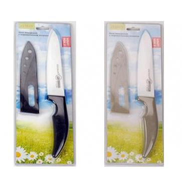 """Нож поварской керамический с защитным чехлом 6"""""""