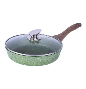 Сковорода со стеклянной крышкой  Ø 24 см
