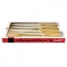 Набор ножей, 5 предметов с антибактериальным покрытием