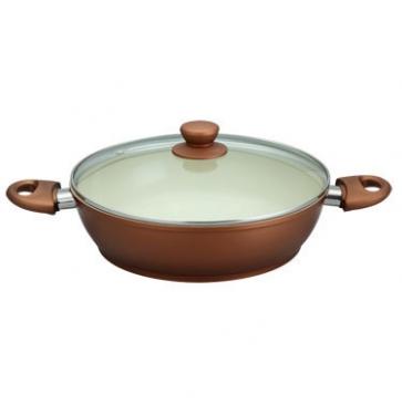 Жаровня с керамическим покрытием, диам. 28 см, 4,6 л