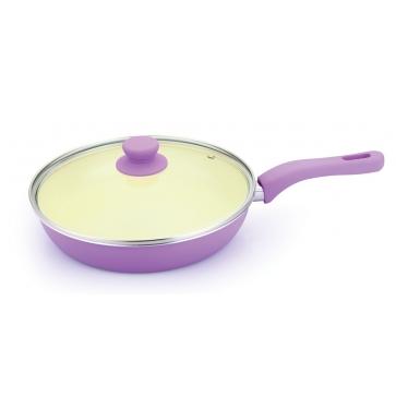 Глубокая сковорода с керамическим покрытием, Ø28см